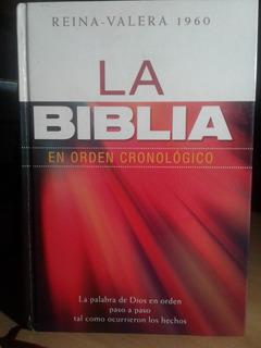 Libro La Biblia En Orden Cronológico