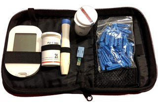 Glucometro Medidor Glicemia Glucosa + Tiras + Lancetas+pilas