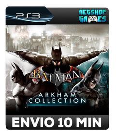 Batman: Arkham Collection - Psn Ps3 - City Asylum E Origins