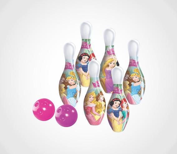 Jogo De Boliche Princesas Lider Brinquedos
