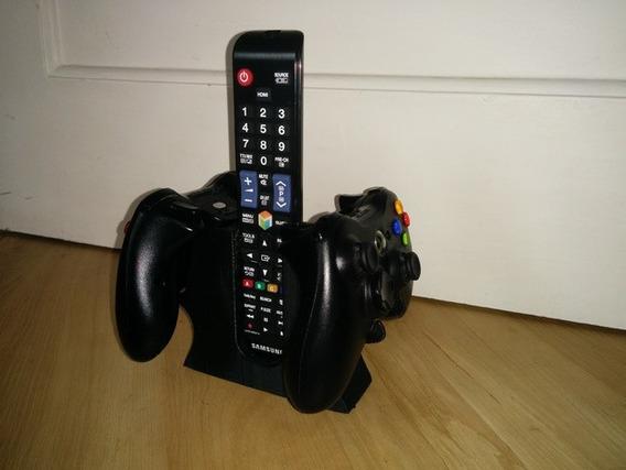 Suporte Para 2 Controles Xbox + Controle Tv