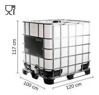 Tankes Ibc 1000 Lts. - Apto Para Agua Potable