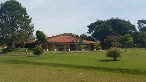 Chácara Com 3 Dormitórios À Venda, 21000 M² Por R$ 3.000.000,00 - Chácara Das Planície - Araçoiaba Da Serra/sp - Ch0023