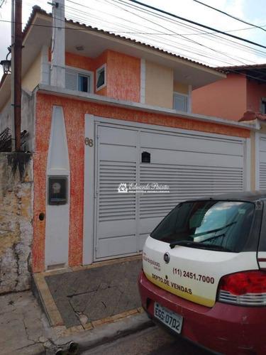 Sobrado Com 3 Dormitórios À Venda, 130 M² Por R$ 730.000,00 - Vila Augusta - Guarulhos/sp - So0285