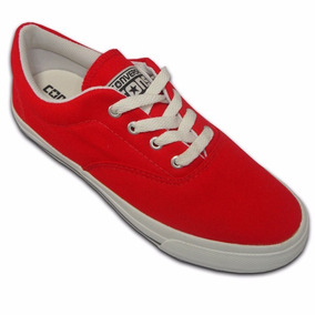 Tênis Converse All Star Skidgrip Cvo Vermelho E Branco