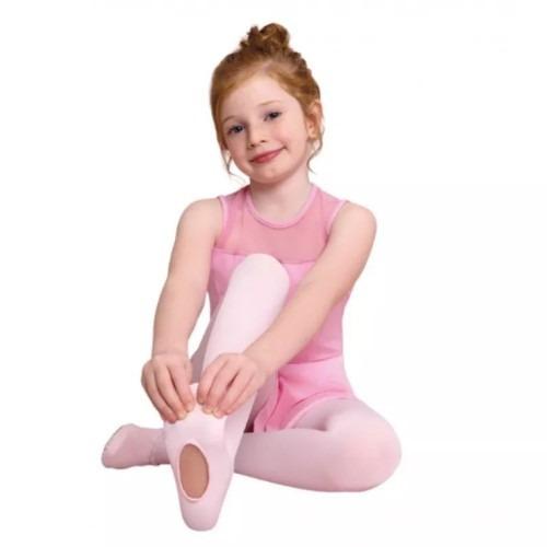 Meia Calça Ballet C/ Abertura Trifil Fio 40 Cor Rosa