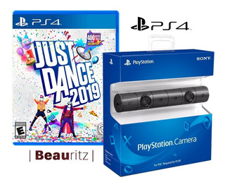 Cámara Vr Ps4 + Just Dance 2019 / Pack Play Station 4 / Sony