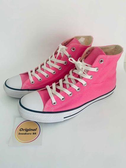 Tênis All Star Converse Pink High , Cano Alto