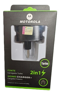 Fonte Carregador Turbo E Cabo V8 Motorola Micro Usb
