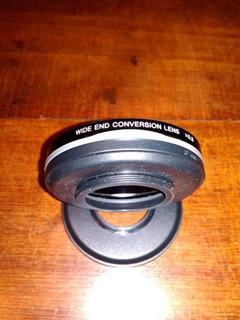 Wide End Conversion Lens Lente Marca Sony Con Dos Acoples