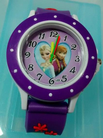 Relógio Infantil Frozen Barato