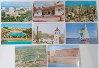 Lote De 11 Cartões Postais Antigos Sem Uso Cidade São Paulo