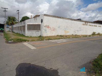 Galpão Comercial À Venda, Barra Do Ceará, Fortaleza - Ga0022. - Ga0022