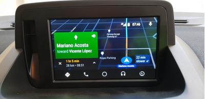 Android Auto Para Fluence Con Rlink