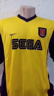 Camisa Oficial Arsenal Nike G Sega - 1999 / 2000