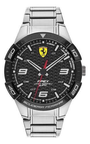 Imagen 1 de 4 de Reloj Ferrari Caballero Color Plateado 0830641 - S007