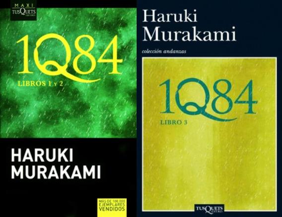 1q84 - Libros 1, 2 Y 3 - Haruki Murakami - Original - Nuevo