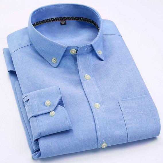 Camisas De Manga Larga Blusas Formales Para Caballeros
