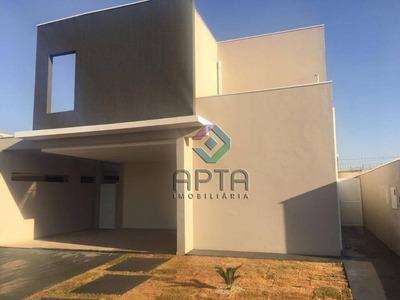 Sobrado Residencial À Venda, Condomínio Buona Vita, Ribeirão Preto - So0213. - So0213