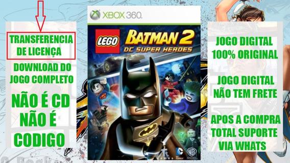 Lego Batman 2 Xbox 360 Mídia Digital