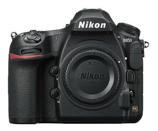 Nova Câmera Digital Slr Nikon D D850 De 47,7 Mp, Com 3 Lente