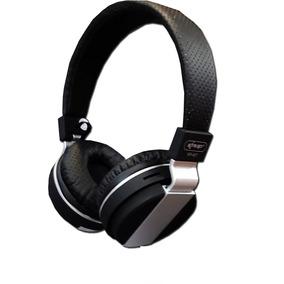 Fone Ouvido Bluetooth Com Rádio Fm Sd Knup Kp407 Preto