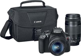 Cámara - Canon Eos Rebel T6 Dslr Con Objetivo - Negro