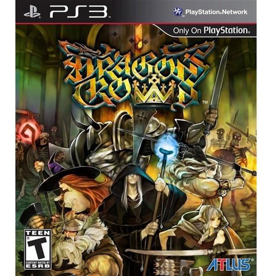 Dragons Crown Ps3 Mídia Física Lacrado Novo Original