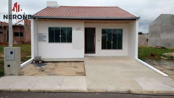 Casa A Venda No Bairro Itaquí Em Campo Largo - Pr. - 252-1