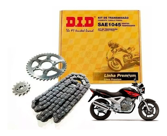 Kit Did Brasil Honda Cbx 250 Twister Con Oring Sti Moto Full