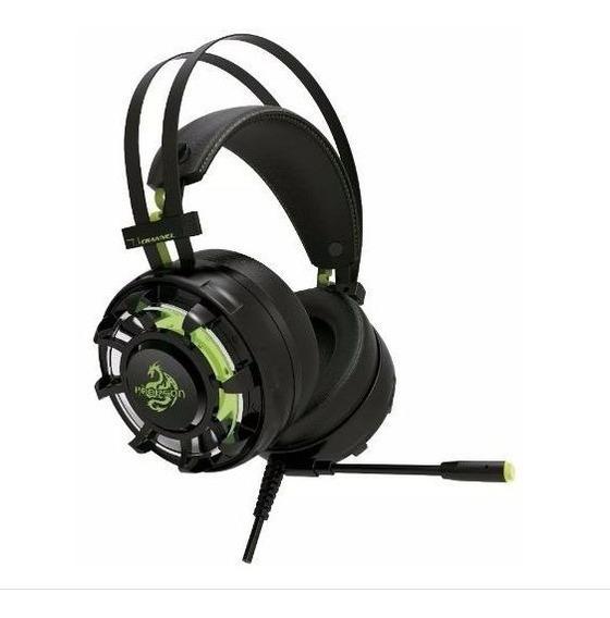 Headset Gamer Hoopson Champion 7.1 Sound Effect (vibração)