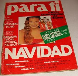 Para Ti_1989_julieta Kemble_daniel Scioli Y Rabolini_ Menem_