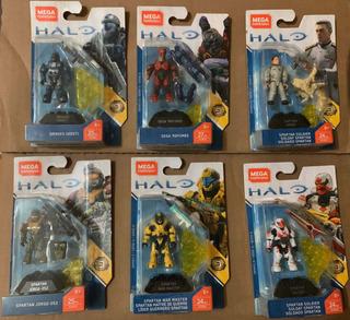Halo Mega Construx Héroes Serie 9
