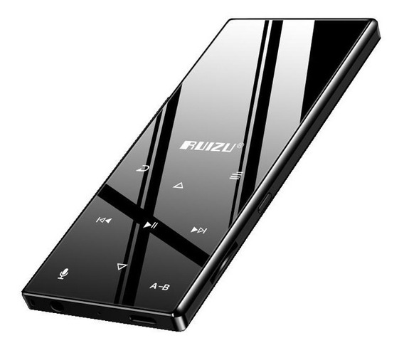 Mp3 Player Bluetooth Ruizu D29 8gb Metal Fm Gravador + Fone