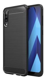 Funda Samsung Galaxy A10 / A20 / A30 / A50 / A70 Tpu Carbono