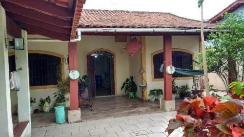 Casa A 600 Mts Da Praia E Com Edícula Em Itanhaém - 6163 Npc