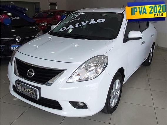 Nissan Versa 1.6 S 16v Flex 4p Manual