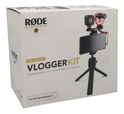 Imagen 1 de 6 de Rode Vlogger Kit Universal Para Smartphones Inconet