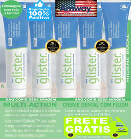Glister Creme Dental 200g Pasta De Dente 5 Unidades Amway 05