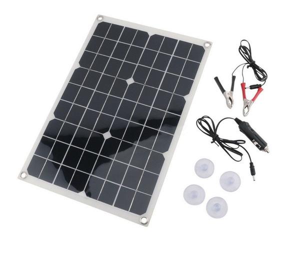 Kit Painel Solar 20w Célula Fotovoltaica