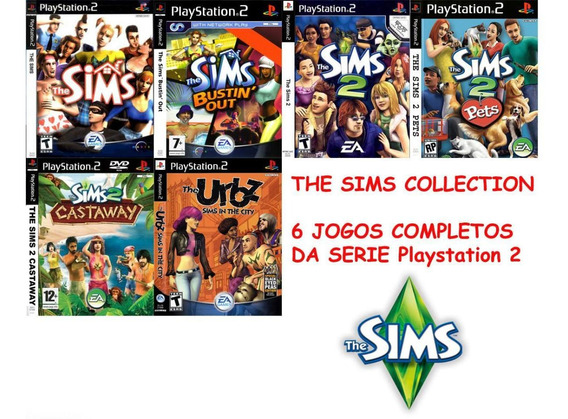 The Sims Coleção - Playstation 2 - Simulador De Vida