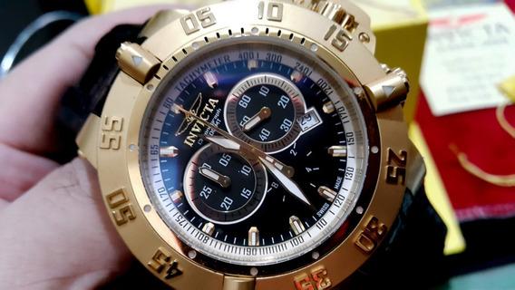 Relógio Invicta Gold 5514 Subaqua Noma 3 Do Ano 2013