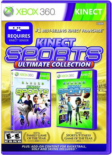 Jogo Xbox 360 Usado Kinect Sports Ultimate Mídia Fìsica C/nf