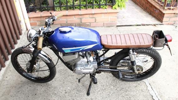 Yamaha Rx 100 Cafe Racer