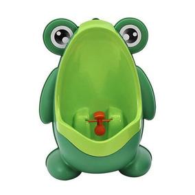 Pinico Mictorio Menino Sapo Sapinho Infantil Cor Verde
