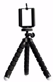Suporte Mini Tripé Para Celular E Câmera Dig. Super Flexível