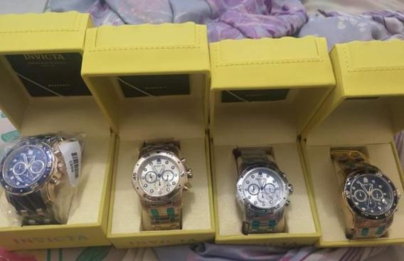 Relógios Invictas Originais,na Caixa Com Certificados