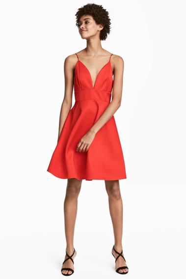 Vestido Mujer H&m Fiesta Casamiento Quince Importado Talle M