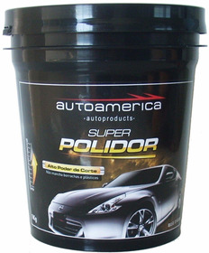 Massa De Polir Autoamerica 1kg Super Polidor