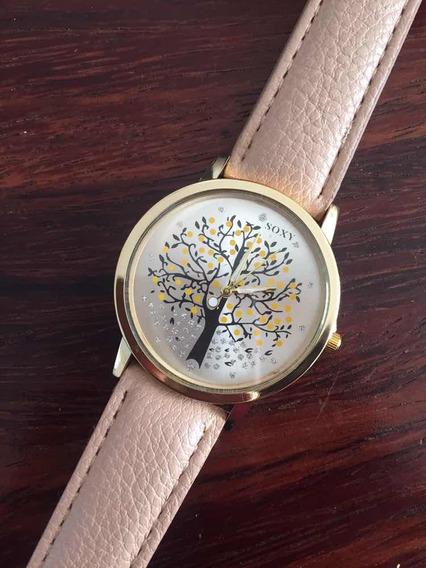 Diseños Reloj Dama Acero Inoxidable